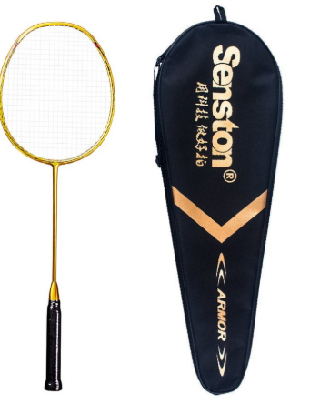Senston N80 Graphite Single High-grade Carbon Fiber Badminton Racquet